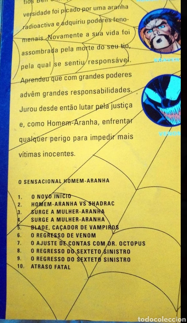 Cómics: Dieciocho números de Spiderman en Portugués. - Foto 5 - 218788771