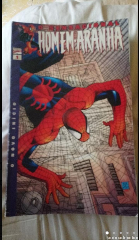 DIECIOCHO NÚMEROS DE SPIDERMAN EN PORTUGUÉS. (Tebeos y Comics - Comics Lengua Extranjera - Comics Europeos)