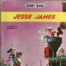 Cómics: LUCKY LUKE - JESSE JAMES - DARGAUD ED. 1969 - EDITION ORIGINALE E.O. - EN FRANCES - VER DESCRIPCION. Lote 218878283