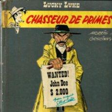 Cómics: LUCKY LUKE - CHASSEUR DE PRIMES - DARGAUD 1971 - EDITION ORIGINALE E.O. -EN FRANCES, VER DESCRIPCION. Lote 218878728