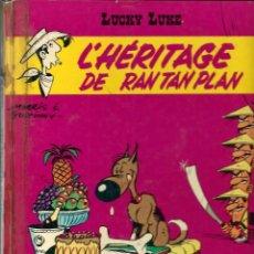 Cómics: LUCKY LUKE - L'HERITAGE DE RANTANPLAN - DARGAUD 1973 - EDITION ORIGINALE E.O. EN FRANCES, VER DESCR.. Lote 218879227