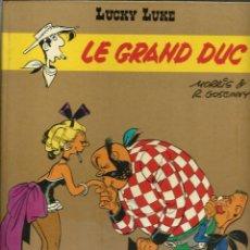 Fumetti: LUCKY LUKE - LE GRAN DUC - DARGAUD ED. 1973 - EDITION ORIGINALE E.O. - EN FRANCES - VER DESCRIPCION. Lote 218879981