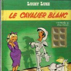Cómics: LUCKY LUKE - LE CAVALIER BLANC - DARGAUD 1975 - EDITION ORIGINALE E.O. - EN FRANCES, VER DESCRIPCION. Lote 218880313