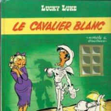 Cómics: LUCKY LUKE - LE CAVALIER BLANC - DARGAUD 1975 - EDITION ORIGINALE E.O. - EN FRANCES, VER DESCRIPCION. Lote 218880405