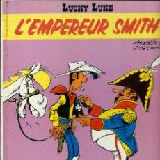 Cómics: LUCKY LUKE - L'EMPEREUR SMITH - DARGAUD 1976 - EDITION ORIGINALE E.O. - EN FRANCES, VER DESCRIPCION. Lote 218880596