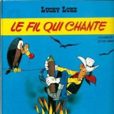 Cómics: LUCKY LUKE - LE FIL QUI CHANTE - DARGAUD 1977 - EDITION ORIGINALE E.O. - EN FRANCES, VER DESCRIPCION. Lote 218880775