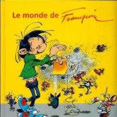 Cómics: LE MONDE DE FRANQUIN - MARSU PRODUCTIONS 2004 - ALBUM DE TAPA DURA EN FRANCES - 62 PAG. - MUY BUENO. Lote 218882621