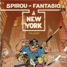 Cómics: SPIROU ET FANTASIO Nº 39 - A NEW YORK - DUPUIS 1987 - EDITION ORIGINALE E.O. - EN FRANCES, BIEN. Lote 218883693