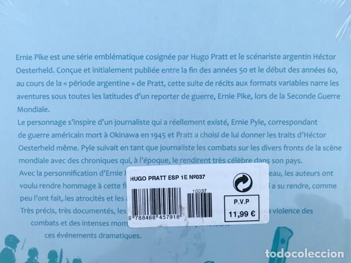 Cómics: COLECCIÓN TOUT PRATT, TOMO 37. ERNIE PIKE Nº 4. AUTORES, HUGO PRATT Y OESTERHELD. ALTAYA. EN FRANCÉS - Foto 3 - 219013306