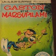 Cómics: GASTON ET LE MARSUPILAMI--FRANQUIN. Lote 219221848