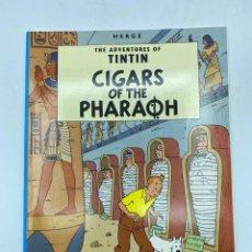 Cómics: CIGARS OF THE PARAOH. HERGÉ. THE ADVENTURES OF TINTIN. EDICIONES DEL PRADO. EN INGLÉS. PAGS: 62. Lote 219492298