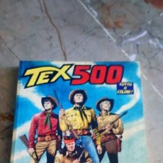 Cómics: TEX Nº 500 (VOMINI IN FUGA) A COLOR SERGIO BONELLI EN ITALIANO. Lote 219722448