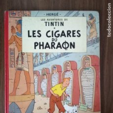 Comics: TINTÍN. LES CIGARES DU PHARAON (EN FRANCÉS). Lote 220228410