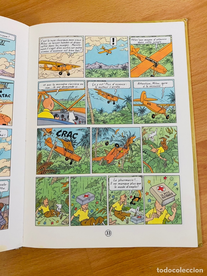 Cómics: Lote Tintin Cómic Les CIGARES Du PHARAON año 1966 + 3 planchas paginas año 2011 Hergé, Moulinsart - Foto 17 - 213789378