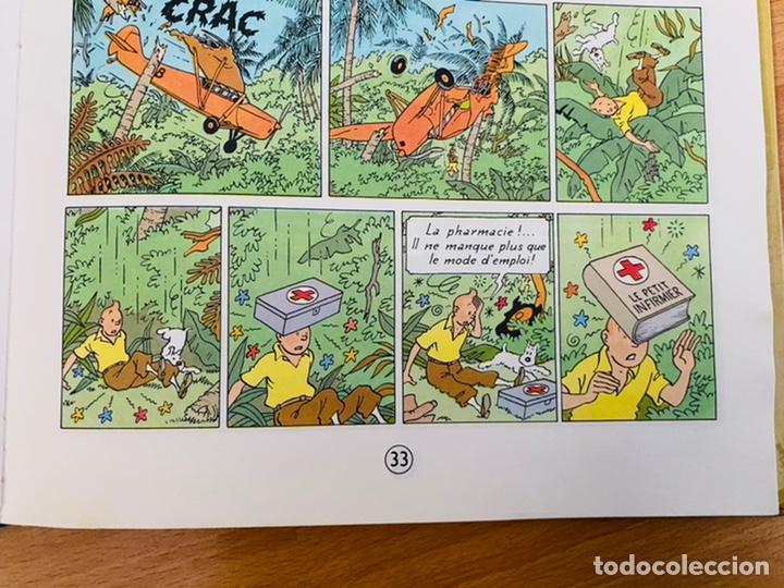 Cómics: Lote Tintin Cómic Les CIGARES Du PHARAON año 1966 + 3 planchas paginas año 2011 Hergé, Moulinsart - Foto 3 - 213789378