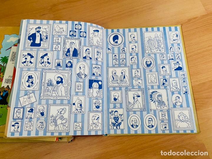 Cómics: Lote Tintin Cómic Les CIGARES Du PHARAON año 1966 + 3 planchas paginas año 2011 Hergé, Moulinsart - Foto 19 - 213789378