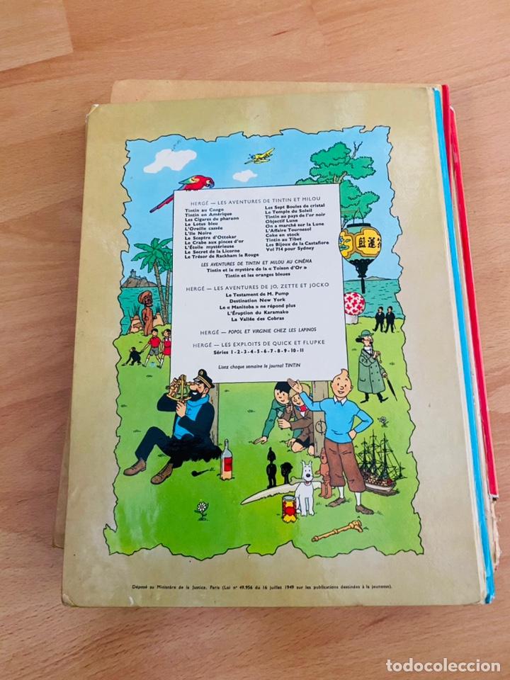 Cómics: Lote Tintin Cómic Les CIGARES Du PHARAON año 1966 + 3 planchas paginas año 2011 Hergé, Moulinsart - Foto 20 - 213789378