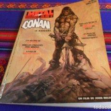 Cómics: METAL HURLANT Nº FUERA DE SERIE DEDICADO AL LANZAMIENTO DE LA PELÍCULA CONAN EL BÁRBARO. 1982. RARO.. Lote 220740561