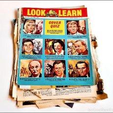 Cómics: LOOK AND LEARN COMIC PAGINAS SUELTAS VARIAS. Lote 221313842