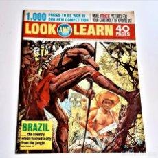 Cómics: LOOK AND LEARN COMIC. Lote 221395335