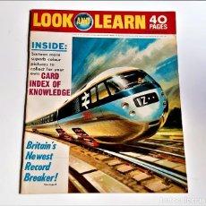 Cómics: LOOK AND LEARN COMIC. Lote 221397011
