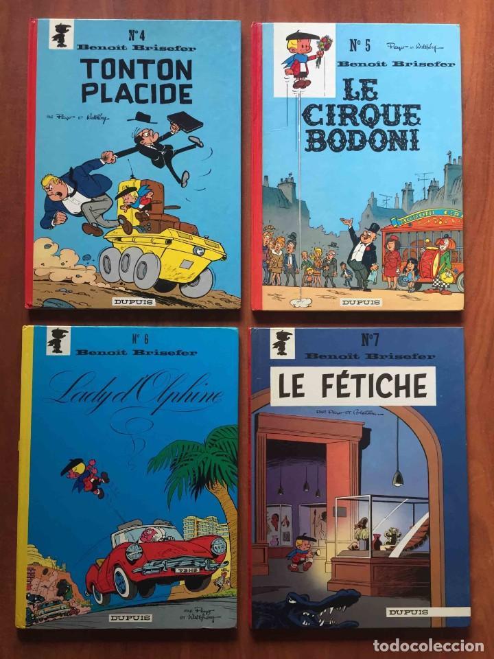 Cómics: BENOIT BRISEFER. Nº 2, 4, 5, 6 y 7. DUPUIS. FRANCÉS - Foto 2 - 221438117