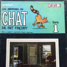 Cómics: LES AVENTURES DU CHAT DE FAT FREDDY. Nº 1. ARTEFACT. FRANCÉS. Lote 222004340