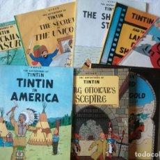 Cómics: TINTÍN EN INGLÉS. Lote 222100672