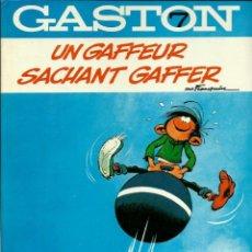 Cómics: FRANQUIN - GASTON Nº 7 - UN GAFFEUR SACHANT GAFFER - DUPUIS 1981 - EN FRANCES - MUY BIEN CONSERVADO. Lote 222126221