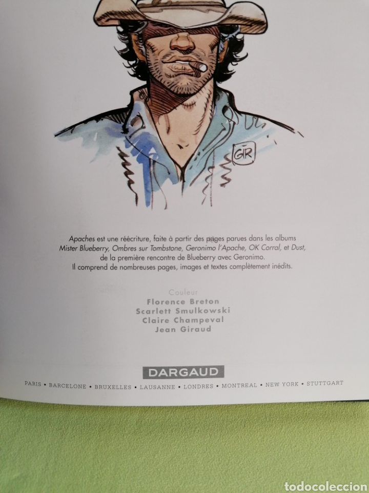 Cómics: Cómic en francés BLUEBERRY -Apaches- Charlier/Giraud. Dargaud (2007) - Foto 5 - 222184003
