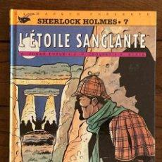 Cómics: COLLECTION B.DETECTIVES. Nº 37. SHERLOCK HOLMES 7. CLAUDE LEFRANCQ EDITEUR. FRANCÉS. Lote 222225921