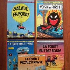 Cómics: MARC LEBUT ET SON VOISIN. Nº 3, 4, 5, 13 Y 14. DUPUIS. FRANCÉS. Lote 222232856