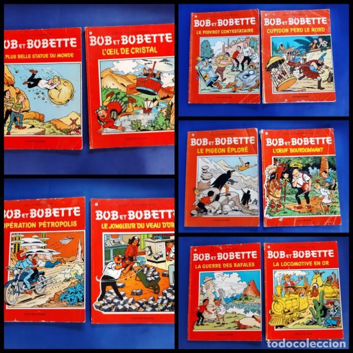 BOB ET BOBETTE LOTE DE 10 NUMEROS EDICIONES ERASME BRUSELAS-VER NUMERACION (Tebeos y Comics - Comics Lengua Extranjera - Comics Europeos)