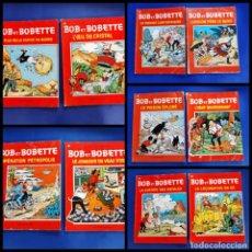 Cómics: BOB ET BOBETTE LOTE DE 10 NUMEROS EDICIONES ERASME BRUSELAS-VER NUMERACION. Lote 222237502