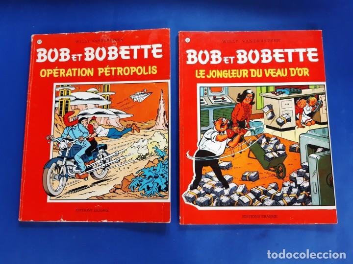 Cómics: BOB ET BOBETTE LOTE DE 10 NUMEROS EDICIONES ERASME BRUSELAS-VER NUMERACION - Foto 2 - 222237502