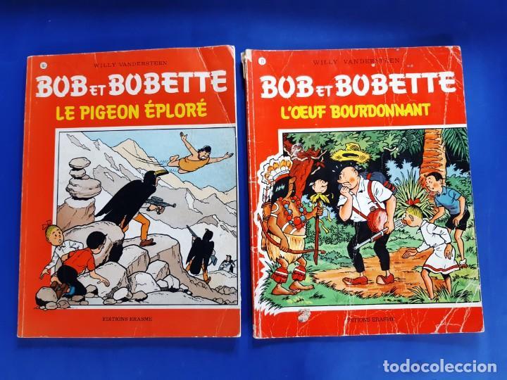 Cómics: BOB ET BOBETTE LOTE DE 10 NUMEROS EDICIONES ERASME BRUSELAS-VER NUMERACION - Foto 3 - 222237502