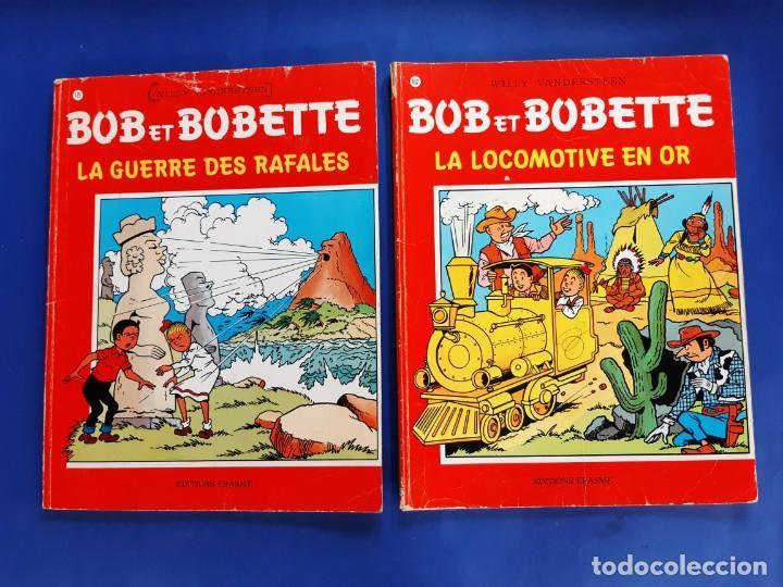 Cómics: BOB ET BOBETTE LOTE DE 10 NUMEROS EDICIONES ERASME BRUSELAS-VER NUMERACION - Foto 4 - 222237502