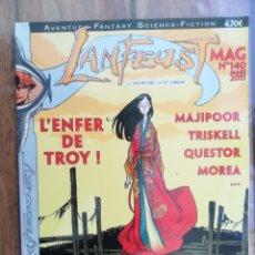 Cómics: LANFEUST MAG. Nº 140. REVISTA SOBRE COMICS. EN FRANCÉS. Lote 222714323