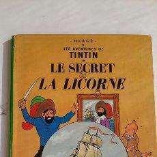 Cómics: TIN TIN , LES SECRET DE LA LICORNE AÑO 1947 ORIGINAL HERGE BÉLGICA.. Lote 222739151