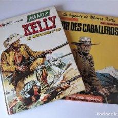 Cómics: MANOS KELLY: LA MONTAGNE D´OR - L´OR DES CABALLEROS - HERNÁNDEZ PALACIOS (EN FRANCÉS). Lote 222808656