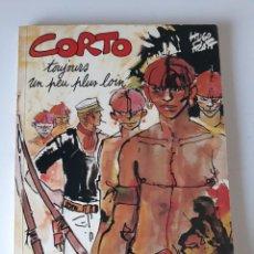 Cómics: CORTO MALTÉS: TOUJOURS UN PEU PLUS LOIN - HUGO PRATT - CASTERMAN. Lote 222822501