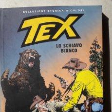 Cómics: COMIC TEX - LO SCHIAVO BIANCO 144 - COLLEZIONE STORICA A COLORI 2009 - EN ITALIANO - WESTERN. Lote 223794366