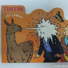 Cómics: TINTIN - LES LAMAS - ESCENA DE TINTIN (EL TEMPO DEL SOL) EN FRANCES - HERGUÉ / MOULINSART 2006. Lote 223993536