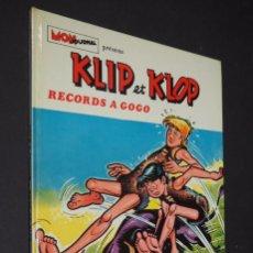 Cómics: KLIP ET KLOP. RECORDS A GOGO. EDITIONS AVENTURES ET VOYAGES, S.A. PARÍS 1974. Lote 224221528
