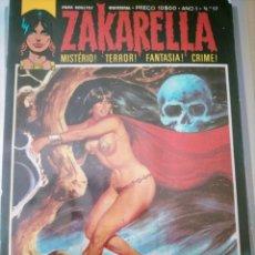 Cómics: ZAKARELLA 1976 SERIE DE MISTERIO TERROR FANTASIA CRIMEN N 17 AÑO 1 NO SANGUE VIVE O AMOR. Lote 224333993