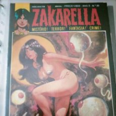 Cómics: ZAKARELLA 1976 SERIE DE MISTERIO TERROR FANTASIA CRIMEN N 20 AÑO 2 O PRINCIPIO DO FIM. Lote 224334165