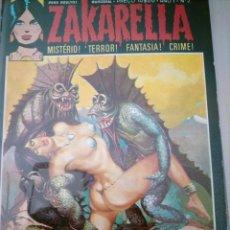 Comics : ZAKARELLA 1976 SERIE DE MISTERIO TERROR FANTASIA CRIMEN N 2 AÑO 1 OS HOMENS DE SANGUE FRIO. Lote 224334410