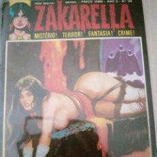 Cómics: ZAKARELLA 1976 SERIE DE MISTERIO TERROR FANTASIA CRIMEN N 24 AÑO 2 O BELO HELENO. Lote 224334538