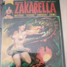 Comics : ZAKARELLA 1976 SERIE DE MISTERIO TERROR FANTASIA CRIMEN N 6 AÑO 1 ORGIA SATANICA. Lote 224334626