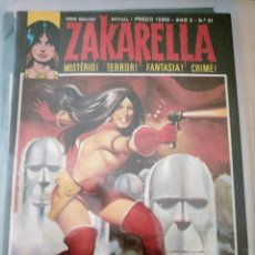 Cómics: ZAKARELLA 1976 SERIE DE MISTERIO TERROR FANTASIA CRIMEN N 21AÑO 2 ZAKARELLA NO ESPACO. Lote 224334252